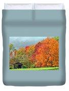 West Virginia Maples 2 Duvet Cover by Steve Harrington