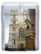 Westminster Abbey Duvet Cover by Elena Elisseeva