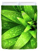 Wet Foliage Duvet Cover by Carlos Caetano