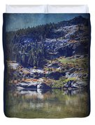 What Lies Before Me Duvet Cover by Laurie Search