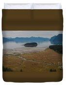 Wild Alaska Coast Duvet Cover by Mike Reid