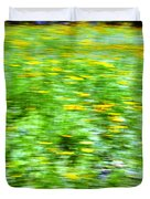 Wildflowers and Wind 2 Duvet Cover by Skip Nall