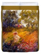 Wildflowers Duvet Cover by Marie Green