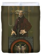 Willie Von Goethegrupf Duvet Cover by Patrick Anthony Pierson