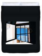 Window Treatment Duvet Cover by Lenore Senior