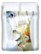 Wineglass Duvet Cover by Atiketta Sangasaeng