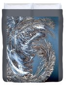 Wintry Pine Needles Duvet Cover by Will Borden