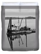 Wiscasset Reflection Duvet Cover by Catherine Reusch  Daley
