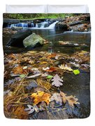 Wolf Creek Duvet Cover by Rick Berk