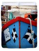 Working Harbour Duvet Cover by Terri Waters