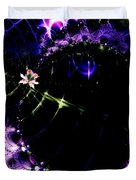 Wormhole Beyond . Square . S4a.s10 Duvet Cover by Wingsdomain Art and Photography