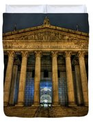 ... And Justice For All Duvet Cover by Evelina Kremsdorf