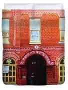 Temple Solomon Congregation Duvet Cover by Carole Spandau