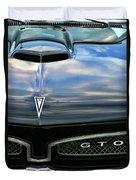 1967 Pontiac Gto Duvet Cover by Gordon Dean II