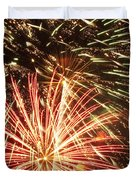 4th of July Fireworks Duvet Cover by Joe Carini - Printscapes