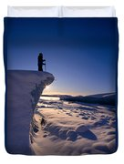 Alaska, Juneau Duvet Cover by John Hyde - Printscapes