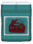 Alfa Romeo Gtv Duvet Cover by Naxart Studio