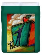 Ambition Duvet Cover by Leon Zernitsky