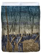 Battle Of The Wilderness, 1864 Duvet Cover by Photo Researchers