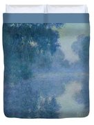 Branch Of The Seine Near Giverny Duvet Cover by Claude Monet