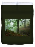 Dark Forest Duvet Cover by Evgeni Dinev