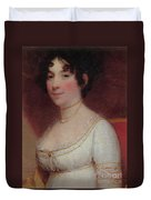 Dolley Madison Duvet Cover by Photo Researchers
