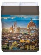 Firenze Duomo Duvet Cover by Inge Johnsson