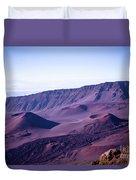 Haleakala Sunrise On The Summit Maui Hawaii - Kalahaku Overlook Duvet Cover by Sharon Mau