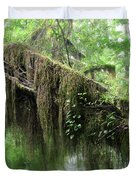 Hall of Mosses - Hoh Rain Forest Olympic National Park WA USA Duvet Cover by Christine Till