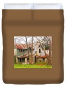 Haunted House Duvet Cover by Marty Koch