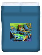 License To Chill Duvet Cover by Debbi Granruth