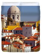 Lisbon View Duvet Cover by Carlos Caetano