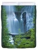 Lower Proxy Falls Duvet Cover by Greg Vaughn - Printscapes