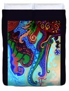 Metaphysical Habituation Duvet Cover by Genevieve Esson