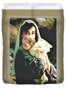 Mother and Child Duvet Cover by Ronald Chambers
