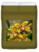 Orchid 9 Duvet Cover by Marty Koch