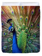Peacock Duvet Cover by Hannes Cmarits