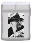 President Franklin Roosevelt Duvet Cover by War Is Hell Store