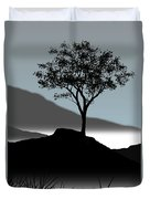 Serene Duvet Cover by Chris Brannen