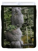 Spruce Burl Olympic National Park Beach 1 Wa Duvet Cover by Christine Till