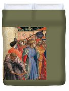 The Annunciation Duvet Cover by Fra Angelico