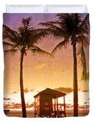 The Beach Duvet Cover by Debra and Dave Vanderlaan