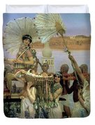 The Finding Of Moses Duvet Cover by Sir Lawrence Alma Tadema