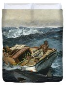 The Gulf Stream Duvet Cover by Winslow Homer