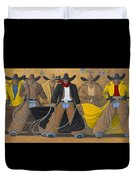 The Posse Duvet Cover by Lance Headlee