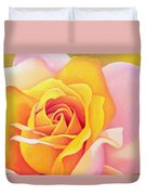 The Rose Duvet Cover by Myung-Bo Sim