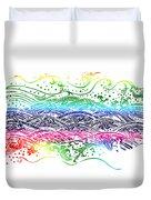 Water Pattern Duvet Cover by Setsiri Silapasuwanchai