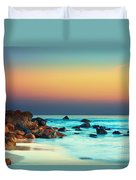 Sunset Duvet Cover by MotHaiBaPhoto Prints