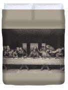 The Last Supper Duvet Cover by Leonardo da Vinci