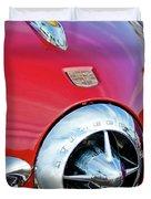 1950 Studebaker Champion Hood Ornament Duvet Cover by Jill Reger